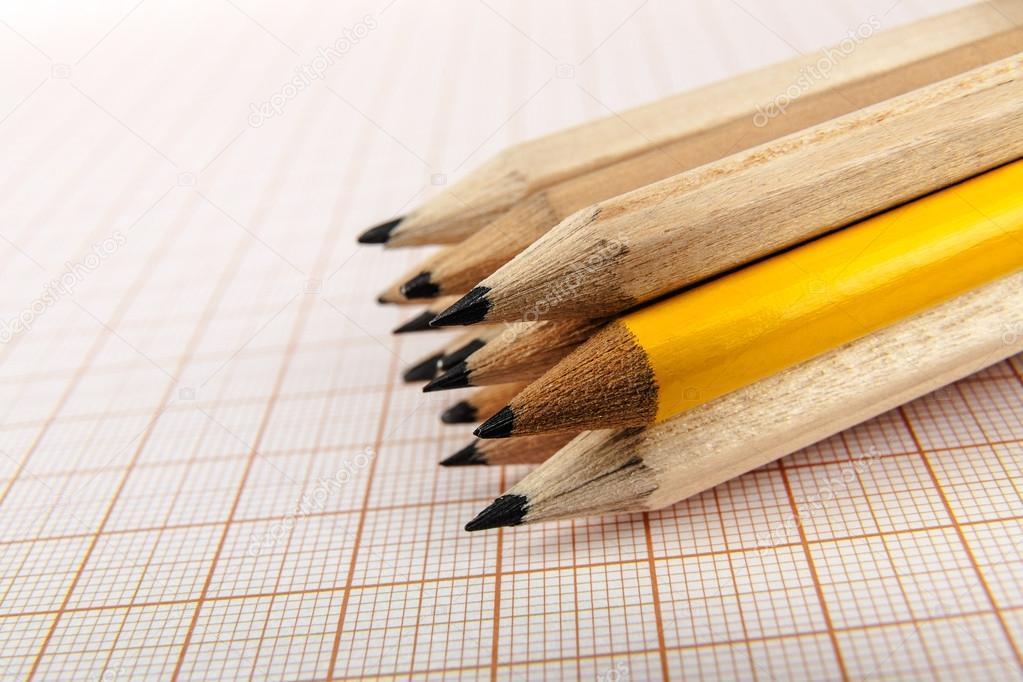 铅笔方框手绘图片