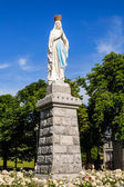 Statue of Our Lady of Lourdes — Stock Photo