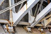 Bridge support bearings — Stock Photo