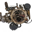 Worn out carburetor — Stockfoto