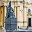 Cardinal Primate StefWyszynski monument — Stock Photo #24932273