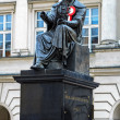 Nicolaus Copernicus monument in Warsaw - Stock Photo