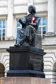 Nicolaus Copernicus monument in Warsaw — Stock Photo