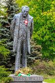 Statue of Boleslaw Prus in Warsaw — Stock Photo