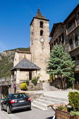 Belltower in Ordino, Andorra — Stock Photo