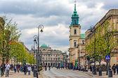 Historic architecture at the Trakt Krolewski — Stock Photo