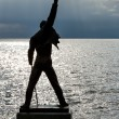 Freddie Mercury Statue in Montreux — Stock Photo #26270525
