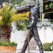 Freddie Mercury Statue in Montreux, Switzerland — Stock Photo #26272085
