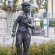Charlie Chaplin statue — Stock Photo #26533605
