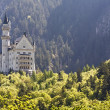 Neuschwanstein castle in distance — Stock Photo #26533669