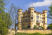 Hohenschwangau XIX century castle — Stock Photo