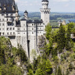 Stock Photo: Neuschwanstein in southwest Bavaria