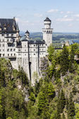 Neuschwanstein in southwest Bavaria — Stock Photo
