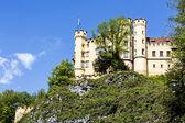 Hohenschwangau XIX century castle — Stock Photo