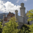 Neuschwanstein castle in Bavaria — Stock Photo