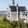 Soaring architecture of Neuschwanstein Castle — Stock Photo #26980431