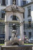 Bronze bust of Ignacy Paderewski — Stock Photo