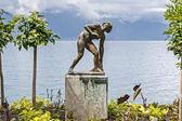 Baigneuse, sculpture by Arthur Schlageter — Fotografia Stock