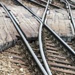 Railway junction — Stock Photo