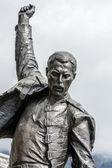 Freddie Mercury statue closeup — Stock Photo