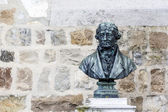 Bust of Doyen Bridel in Montreux — Стоковое фото