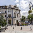 Historic brick building in Zakopane — Stock Photo #29133863