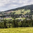 Stock Photo: Picturesque hills surrounding Koscielisko