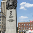 Statue to Napoleon Bonaparte in Warsaw — Stock Photo