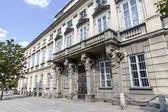 дворец тышкевичей в варшаве — Стоковое фото