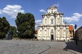 The Church of Wizytek, Warsaw — 图库照片