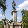 Adam Mickiewicz statue — Stock Photo