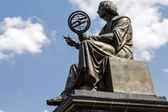 Nicolaus Copernicus memorial in Warsaw — Stock Photo