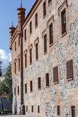 リン城、ポーランドの側壁 — ストック写真