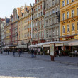 Stock Photo: South frontage of old Market Square, Wroclaw