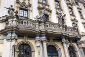 Balcony with four famous sculptures, Wroclaw — ストック写真