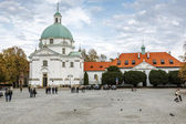 Sw Kazimierz Church, Warsaw — Stock Photo