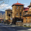 Stock Photo: Two twin villas in Zakopane
