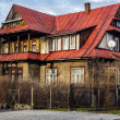 Villa named Pani Zosia in Zakopane — ストック写真