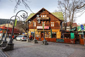 Gazdowo Kuznia Restaurant in Zakopane — Stock Photo