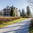 Bristol Hotel in a quiet area of Zakopane — Stock Photo