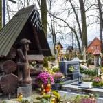 Family grave in Zakopane in Poland — Stock Photo #36786145