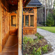 Atma house porch — Stock Photo