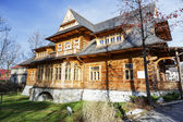 Historic villa Oksza in Zakopane — Stock Photo