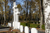 The symbolic grave Sibir Exile in Warsaw — Stock Photo
