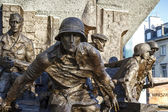 Monument to the Heroes of 1944 Warsaw Uprising — Stock Photo