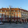 Stock Photo: Townhouses of New Town Market in Warsaw