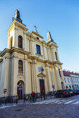 Church of St. Francis in Warsaw — Stock Photo