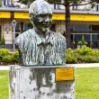 Memorial to Quincy Jones in Montreux — Stock Photo #38407351