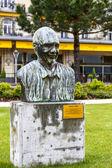 Memorial to Quincy Jones in Montreux — Stock Photo