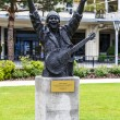 Statue to Carlos Santana, Montreux — Stock Photo #38495599
